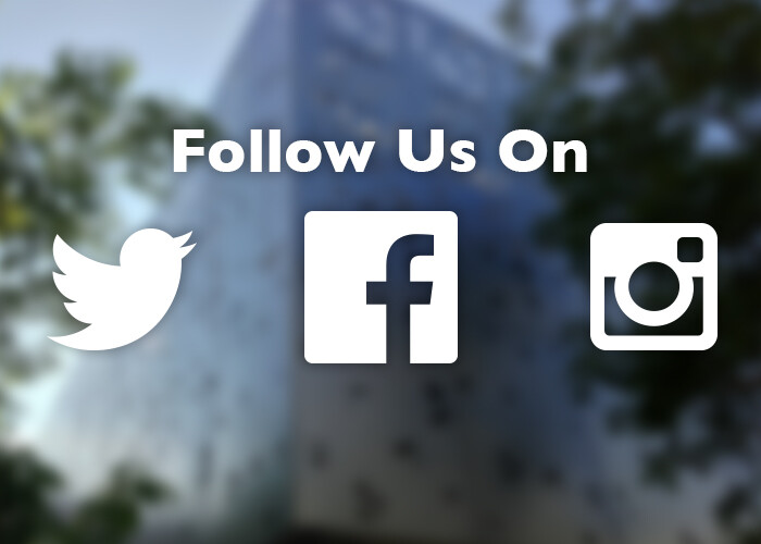 Visit us on Twitter, Facebook and Instagram